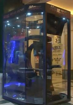 Phòng điện tử cho các ông chồng chờ vợ mua sắm