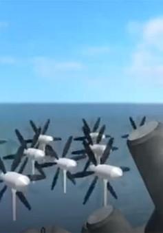 Nhật Bản: Tạo ra điện từ năng lượng sóng