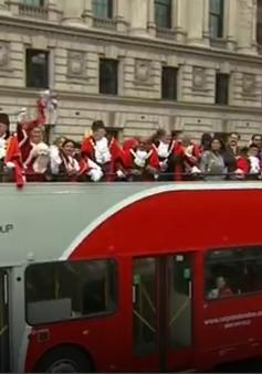 Diễu hành truyền thống chúc mừng năm mới ở Anh