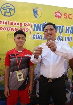 300 cầu thủ trẻ tranh suất dự giải bóng đá lần đầu tiên diễn ra trên phố đi bộ Hà Nội