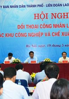Chủ tịch UBND TP. Hà Nội đối thoại với công nhân khu công nghiệp