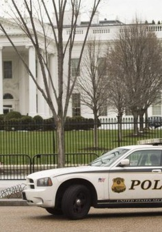 Mỹ bắt giữ đối tượng khả nghi ở Nhà Trắng