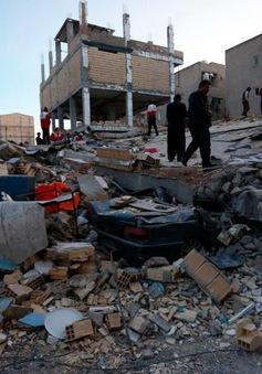 Giờ phút động đất làm rung chuyển các tòa nhà tại biên giới Iran và Iraq