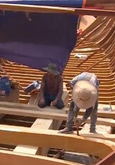 Số lượng tàu cá đóng mới tại Bình Định giảm gần 50%