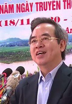 Đồng chí Nguyễn Văn Bình dự Ngày hội Đại đoàn kết toàn dân tộc tại Phú Thọ