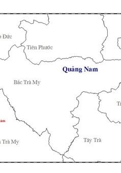 Quảng Nam: Động đất liên tiếp 2 lần kèm tiếng nổ tại Nam Trà My