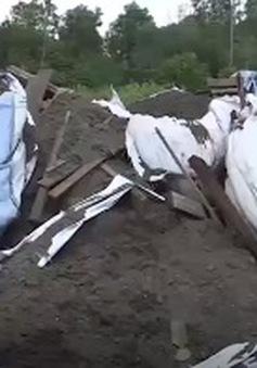 Gian nan đấu tranh với nạn xả trộm rác thải công nghiệp