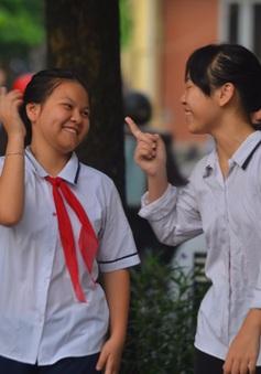 Học sinh Hà Nội háo hức tựu trường trước ngày khai giảng