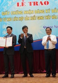 60.000 tỷ đồng xây khu liên hợp gang thép tại Dung Quất