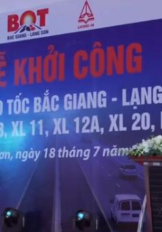 Khởi công 7 gói thầu dự án cao tốc Bắc Giang - Lạng Sơn