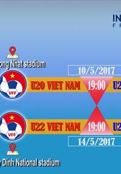 Công bố giá vé 2 trận giao hữu của U20 Việt Nam và U22 Việt Nam với U20 Argentina