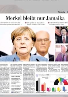 Nước Đức và châu Âu sốc sau ngày bầu cử Quốc hội