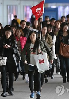 Khách du lịch Trung Quốc đến Hàn Quốc giảm mạnh