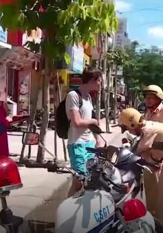 Khánh Hòa: Khó xử lý người nước ngoài vi phạm an toàn giao thông