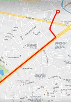 Điều chỉnh giao thông trên đường An Dương Vương, TP.HCM