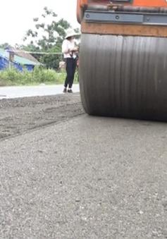 Tổng cục Đường bộ thí điểm công nghệ sửa chữa đường mới