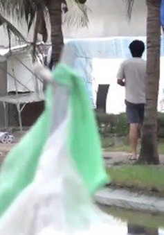 """Bình Thuận: Đường du lịch tại khu phố """"Tây"""" Hàm Tiến ô nhiễm nặng"""