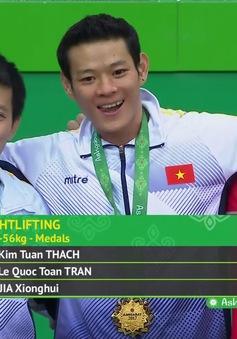 Thạch Kim Tuấn giành HCV cử tạ hạng cân 56Kg tại Đại hội thể thao trong nhà và võ thuật châu Á 2017