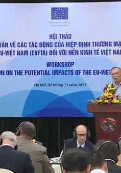 Việt Nam có thể thu lợi 3,2 tỷ USD vào năm 2020 nếu EVFTA đi vào hiệu lực