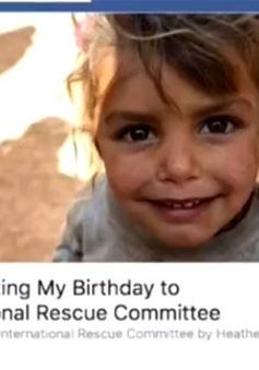 Facebook giới thiệu tính năng làm từ thiện nhân dịp sinh nhật