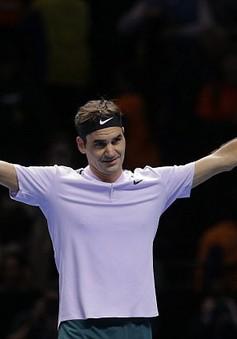 Federer toàn thắng 3 trận vòng bảng ATP Finals 2017