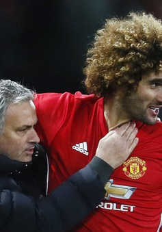 Chấn thương bí hiểm, Fellaini vẫn được Man Utd tha thiết mời gia hạn