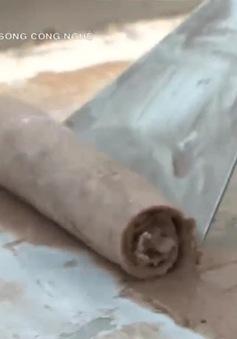 Độc đáo ý tưởng máy làm kem cuộn đôi của sinh viên Bách Khoa