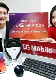 LG G6 cán mốc 40.000 đơn đặt mua trước chỉ trong 4 ngày