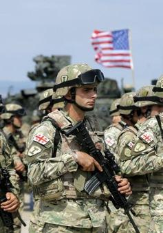Hàng nghìn quân Mỹ và đồng minh tập trận quy mô lớn ở Gruzia