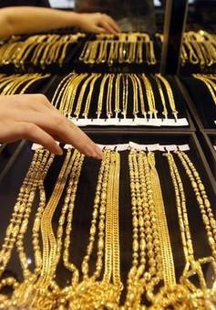 Giá vàng tại châu Á đi xuống