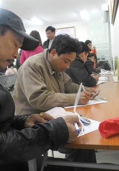 Hà Nội khảo sát mức độ hài lòng của người dân khi làm thủ tục hành chính