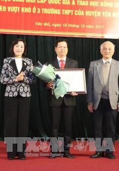 Ba tiến sĩ vinh dự nhận giải thưởng sử học Phạm Thận Duật