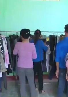 Gian hàng miễn phí cho người khó khăn tại Bình Định