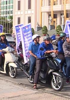 """Ngày hội """"Thanh niên với văn hóa giao thông"""" tại Nha Trang"""