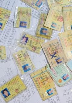 Giấy phép lái xe, kiểm định giả tràn lan tại Thừa Thiên – Huế