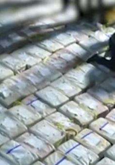 Giới chức Tây Ban Nha thu giữ số lượng lớn cocaine