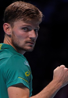 Ngược dòng thắng Federer, Goffin giành quyền vào chung kết ATP Finals 2017