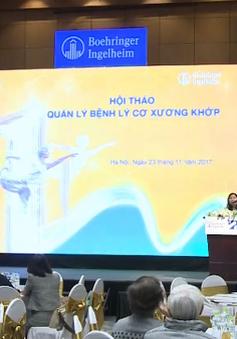 Bệnh lý cơ xương khớp đang gia tăng nhanh tại Việt Nam