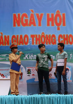 Ngày hội An toàn giao thông cho trẻ em