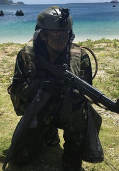 Nhật Bản tập trận tại đảo Guam