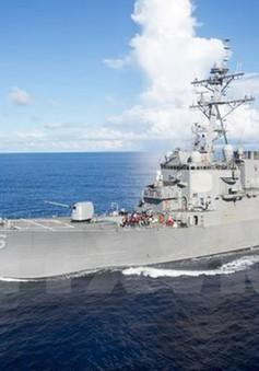 Hải quân Mỹ tạm ngừng hoạt động tất cả các hạm đội trên toàn cầu