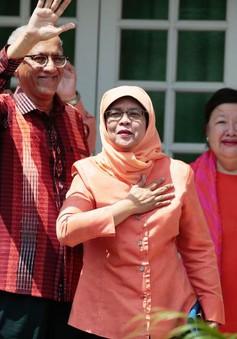 Nữ Tổng thống đầu tiên của Singapore nhậm chức