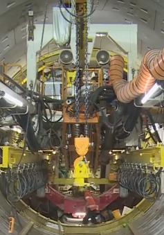 Cận cảnh đoạn đường hầm Metro đầu tiên được robot khổng lồ đào ở TP.HCM