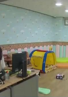 Một công ty tại Hàn Quốc cho phép mang con tới nơi làm việc