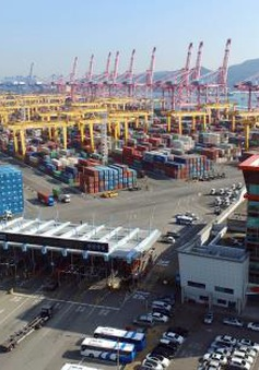 Hãng tàu Hanjin chấm dứt 40 năm hoạt động