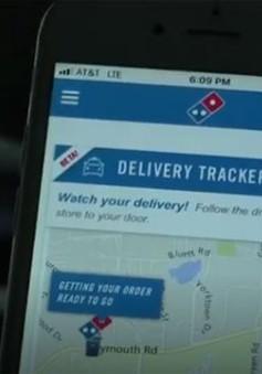 Xe giao pizza không người lái