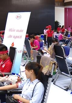 Tiếp nhận hơn 34.000 đơn vị máu từ Hành trình Đỏ