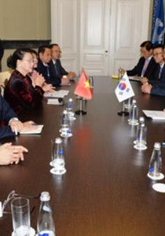 Chủ tịch Quốc hội tiếp lãnh đạo Quốc hội Trung Quốc, Iran và Hàn Quốc