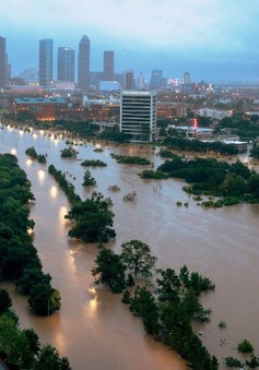 Bang Texas, Mỹ hoang tàn sau siêu bão Harvey