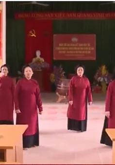 Phường Xoan Phú Thọ chuẩn bị cho Lễ hội Đền Hùng năm 2017